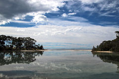 Reflections At Inlet Stock Photography