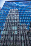 Reflections of Bank Building in San Francisco Stock Image
