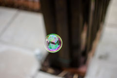 Reflections in the Bubble Stock Photo