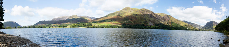 Reflections in Buttermere in Lake District Stock Images