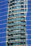 Reflections in city. Reflexion and building distortion in a business centre Stock Photo