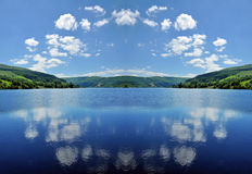 Reflections in the Clouds. Stock Photography