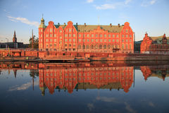 Reflections of Copenhagen Royalty Free Stock Photos