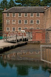 Reflections at cromford Royalty Free Stock Photography