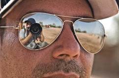 Reflections on desert Royalty Free Stock Photography