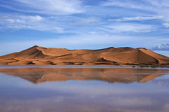 Reflections in the desert Stock Images