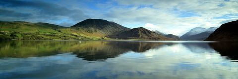Reflections in Ennerdale Stock Image