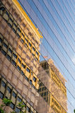 Reflections in facade Royalty Free Stock Photography