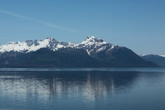 Reflections of Glacier Bay Royalty Free Stock Photography