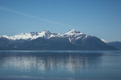Reflections in Glacier Bay Stock Photos
