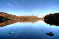 Reflections in Grasmere Royalty Free Stock Images
