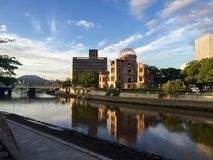 Reflections in Hiroshima Stock Photos