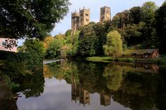 Free Reflections In The River Wear Royalty Free Stock Photography - 3362997