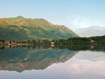 Reflections on lake Stock Photos