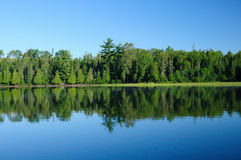 Reflections in the Lake Country Stock Photo