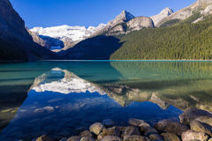 Reflections in Lake Louise Stock Photos