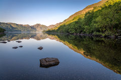 Reflections on Llyn Crafnant II Royalty Free Stock Images