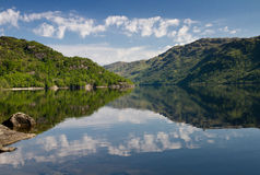 Reflections on Loch Lomond Stock Photography