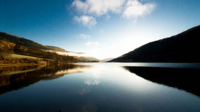 Reflections in the Loch Stock Photos