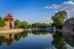The Reflections of the Moat Royalty Free Stock Photo