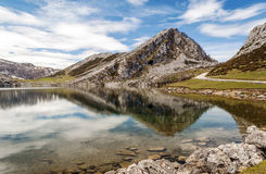 Reflections mountains Royalty Free Stock Photo