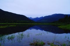 Reflections in Northeast Montana Royalty Free Stock Photography