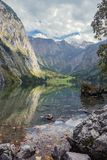 Reflections in the Obersee Stock Photo
