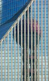 Reflections on office building Royalty Free Stock Photo