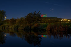 Reflections of Penshaw Monument.1 Royalty Free Stock Photos