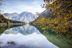 Reflections in Plansee Royalty Free Stock Photography