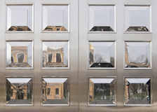Reflections in Polished Panels Royalty Free Stock Photography