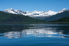Reflections of Prince William Sound Royalty Free Stock Image