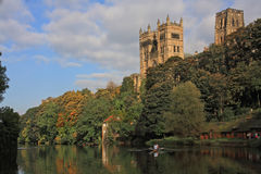 Reflections in the river Wear Royalty Free Stock Photography