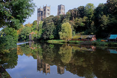 Reflections in the river Wear Royalty Free Stock Photo