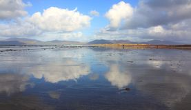 Reflections on Rossbeigh Stock Image