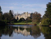 Reflections at Sheffield House. Reflections on the water in front of stately home, Sheffield House, UK Royalty Free Stock Photos