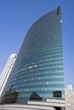 Reflections in the skyscraper Stock Photo