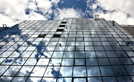Reflections in Steel and Glass Architecture Royalty Free Stock Photo
