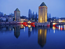Reflections of Strasbourg Royalty Free Stock Images