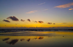 Reflections at sunset Royalty Free Stock Images
