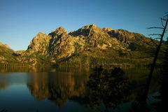 Reflections of the Tetons Stock Photography