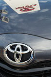Reflections in a Toyota Royalty Free Stock Photos