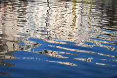 Reflections on water. Stock Images