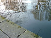 Reflections in water Royalty Free Stock Photos