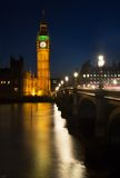 Reflections of Westminster Stock Image