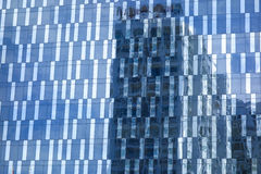 Reflections on Windows of Skyscraper. Building Royalty Free Stock Images