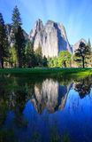 Reflections at Yosemite stock photography