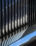 Reflective car grille Stock Photos