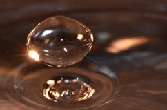 Reflective Droplet Royalty Free Stock Image