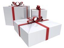 Reflective gifts illustration Royalty Free Stock Photo